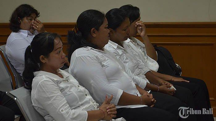 Lima Kolektor LPD Kapal Divonis Berbeda, Kristianti Divonis Paling Tinggi