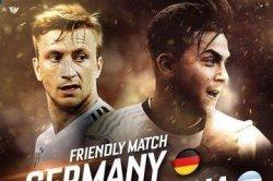 Live Streaming Jerman vs Argentina Laga Persahabatan Dinihari Nanti
