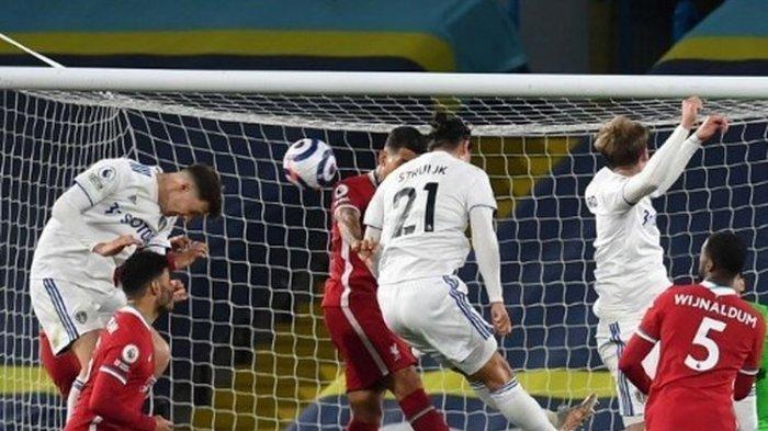 Leeds United Buyarkan Kemenangan Liverpool, Posisi The Reds Tak Beranjak pada Klasemen Liga Inggris