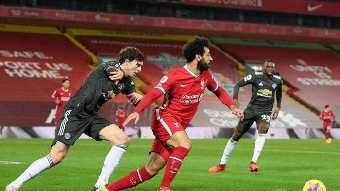 Laga Liverpool Vs Man United berakhir dengan seri di Stadion Anfield.