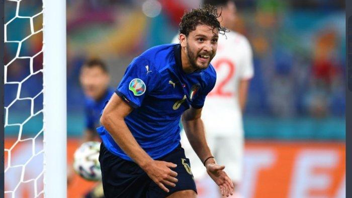 Babak Pertama Italia vs Swiss, Italia Unggul, Swiss Gagal Ciptakan Satu pun Tembakan ke Gawang