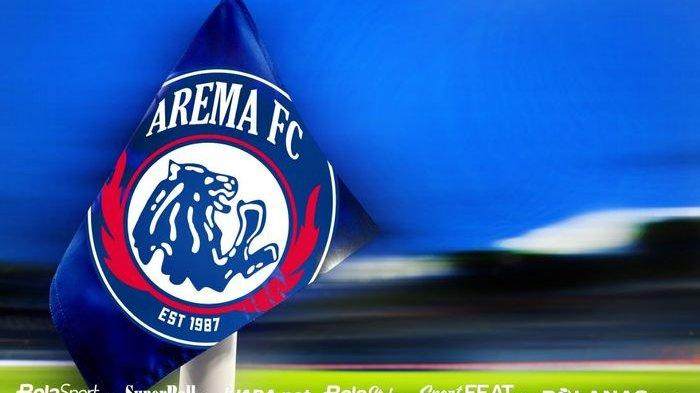 Logo Arema FC.