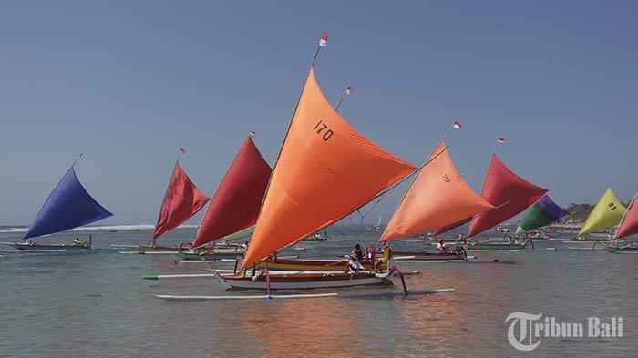 Lomba Perahu Layar Warna-Warni, Jelantik Yakin Jukung Akan Tetap Eksis di Sanur
