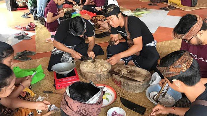 Rayakan HUT ke-60, Sekaa Teruna Watugunung Jaga Tradisi dengan Lomba 'Mebat'