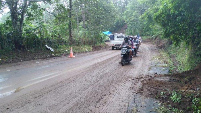 Hujan Sehari, Bangli Dilanda Lima Kejadian Longsor dan Pohon Tumbang