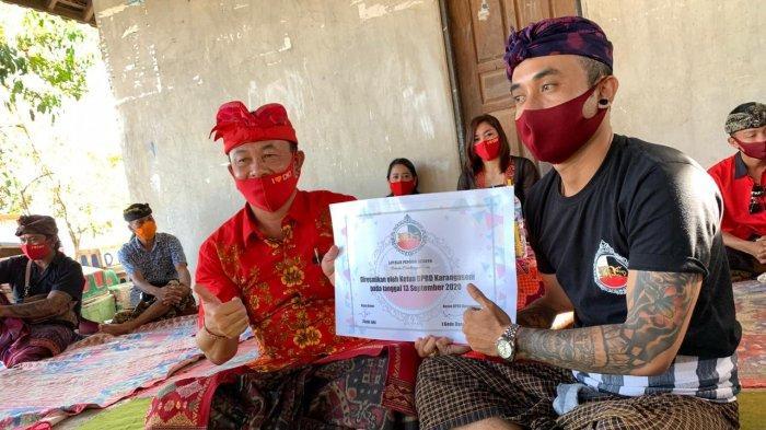 Loyalis Pemuda Seraya Nyatakan Dukungan ke Dana-Dipa di Pilkada Karangasem 2020