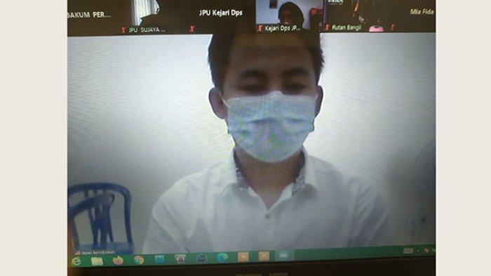 Diperintah Adiknya Ambil Sabu 1,5 Kg di Kuta, Lu Ming Fee Dituntut 17 Tahun Penjara