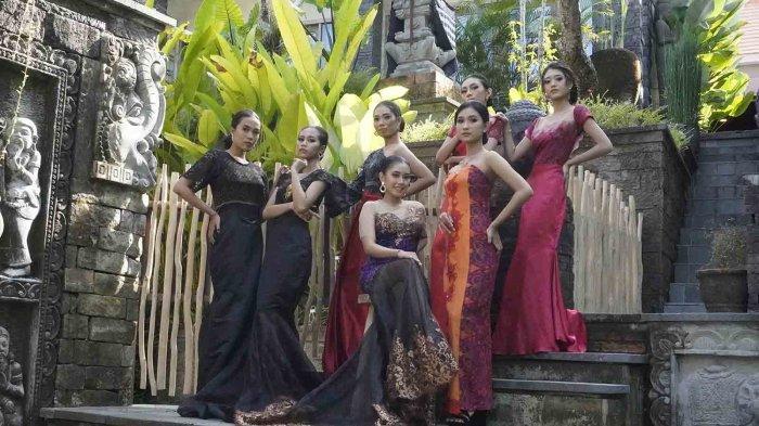 Galakkan Endek Bali, Luh Muani Academy Gelar Pemotretan Rancangan Busana Karya Desainer Bali