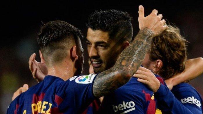 Dianggap Legenda, Barcelona Ucapkan Terima Kasih kepada Luis Suarez