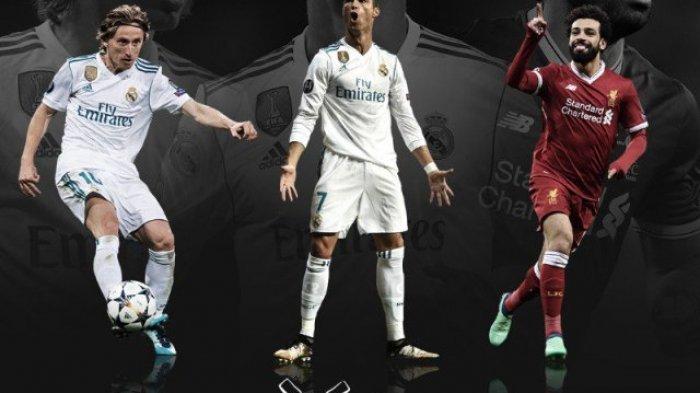 Luka Modric Jadi Pemain Terbaik Eropa Kalahkan Cristiano Ronaldo dan Mohamed Salah