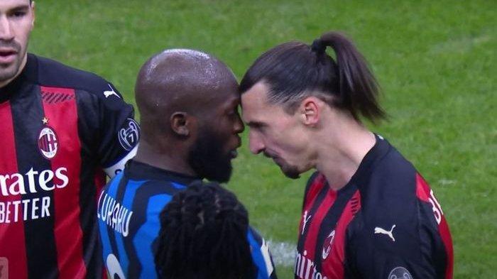 Susunan Pemain AC Milan Vs Inter Milan, Adu Tajam Ibrahimovic dengan Lukaku