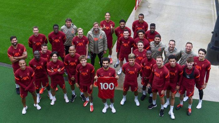 Preview Liverpool vs AC Milan di Liga Champions, Klopp Andalkan Salah dan Mane Bobol Gawang AC Milan