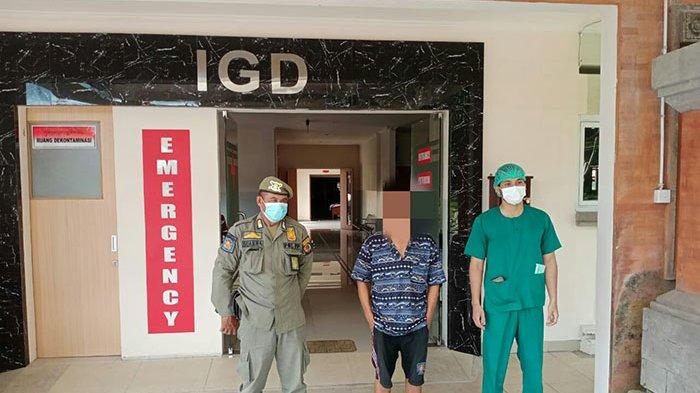 Seorang Pria di Denpasar Kerap Ngamuk dan Lempar Batu ke Rumah Warga, Hari Ini Dirujuk ke RSJ Bali