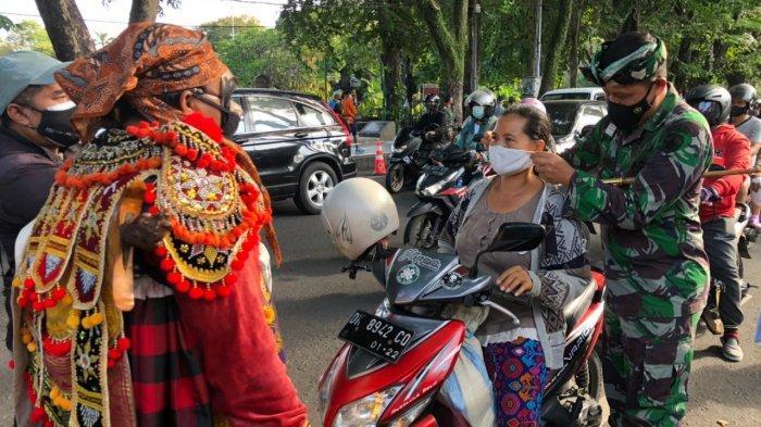 Pembukaan Pariwisata Bali Makin Dimatangkan, Dandim 1611/Badung Meninjau Penerapan PPKM Skala Mikro