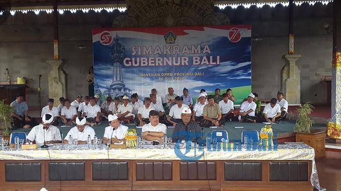 Gubernur Masa Mendatang, Mangku Pastika : Bali Harus Cari Seorang Driver
