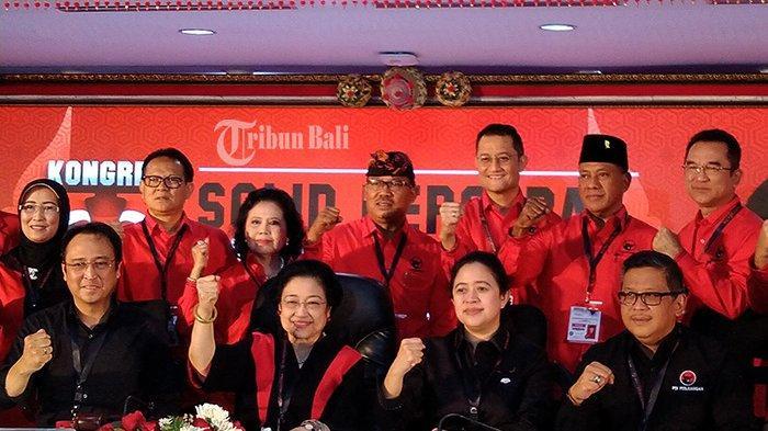 Mega Nyaris Coret Made Urip,Tiga Kali Beruntun Satu Kader Bali Jabat di DPP PDIP