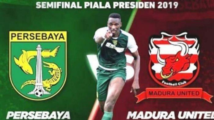 Skor Akhir Persebaya vs Madura United, Final Ideal Tersaji di Piala Presiden 2019