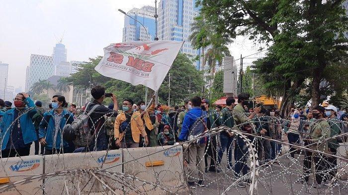 Besok, BEM SI Kembali Akan Unjuk Rasa Tolak Omnibus Law, 5.000 Mahasiswa Diperkirakan Turun ke Jalan