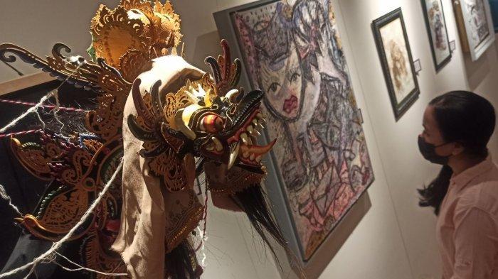 Sebanyak 91 Karya Mahasiswa Seni Rupa Murni Dipamerkan, Ada Instalasi dari Sendal hingga Jajan Sarad
