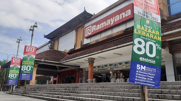 Jelang Lebaran 2021, Mal Ramayana Denpasar Beri Diskon hingga 80 Persen