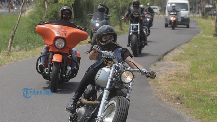 Mama Muda Bentuk Klub Moge Perempuan, Cek Kalender Bali, Sebelum Ride