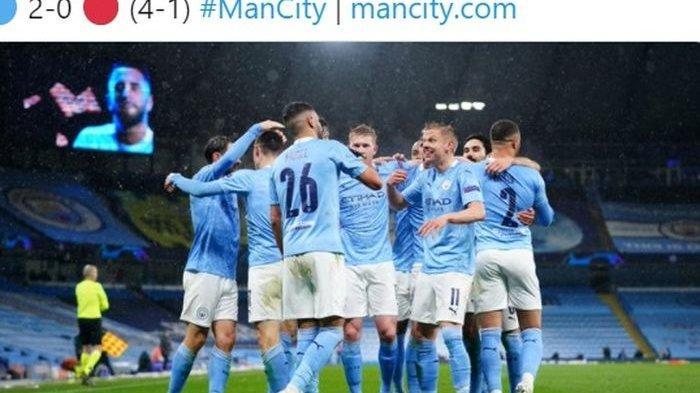 Hasil Semifinal Liga Champions: Hajar PSG, Man City Lolos ke Final, Riyad Mahrez Cetak Dua Gol