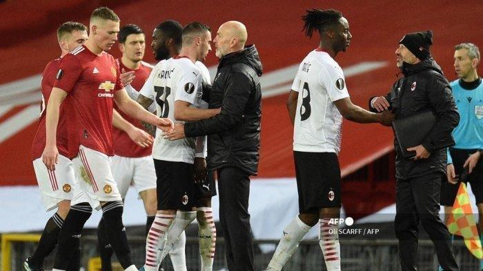 Prediksi Susunan Pemain AC Milan vs Man United, Cavani Out Ibrahimovic In: Rossoneri Diunggulkan