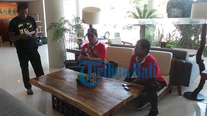 Tiba di Bali, PS TNI Gelar Latihan di Halaman Hotel