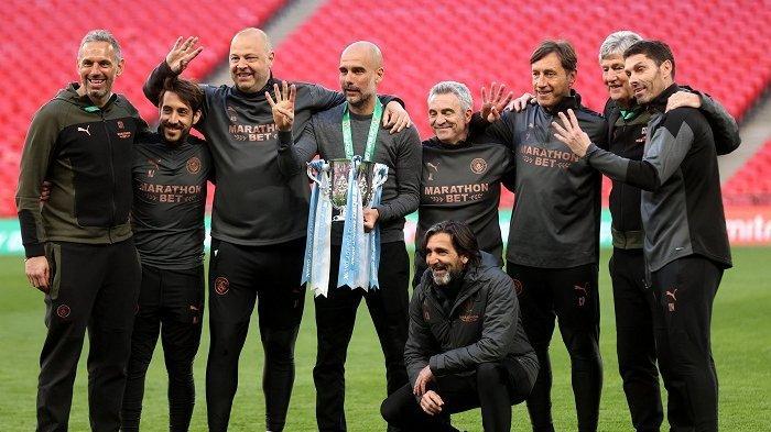 Manchester City Optimistis Juara Liga Inggris 2021, Pep Guardiola: Tinggal 2 Kemenangan Lagi