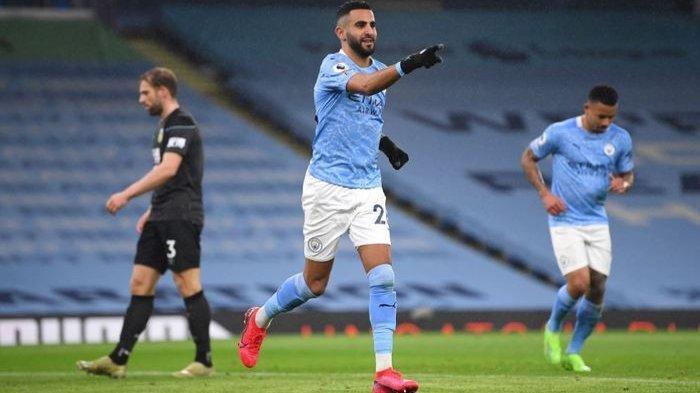 Hasil Lengkap Liga Inggris - Liverpool Main Imbang, Manchester City Benamkan Burnley 5-0