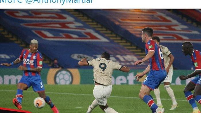 Crystal Palace vs Man United, Menang 2-0, Manchester United Pepet Chelsea dan Leicester City