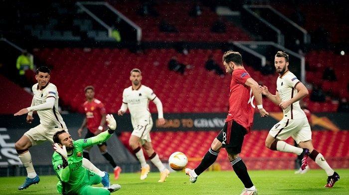Manchester United Ciamik di Liga Eropa, Tertinggal Dulu dan Bantai AS Roma di Babak Kedua