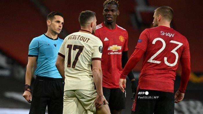 Hasil Liga Eropa: Man United Bantai AS Roma, Lagi Klub Liga Italia Jadi Korban Amukan Setan Merah
