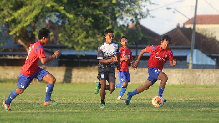 Jimbarwana Legend Tekuk Badung Lingsir,Manila FC Raih Kemenangan Perdana di Masa New Normal