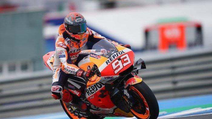 Update Jadwal Race MotoGP Italia 2021, Siap Tampil di Mugello Gaya Balap Agresif Marquez Belum Sirna