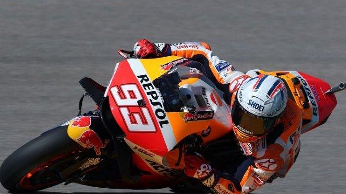 UPDATE Hasil MotoGP Belanda 2021: Marc Marquez Crash di Sesi FP2, Vinales Tercepat, Valentino Rossi?