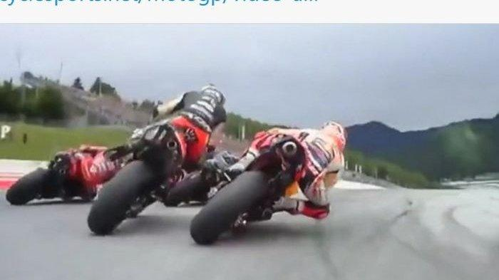 Espargaro Marah Besar Usai Diseruduk Marquez Dua Kali pada MotoGP Styria 2021