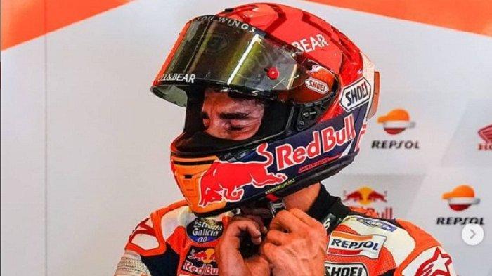Marc Marquez Menangis di Garasi Tim Repsol Honda Usai Hasil MotoGP Portugal 2021, Ini Ungkapnya