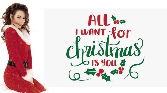 Mariah Carey Hadiahi Penggemar Kado Natal Video Baru All I Want for Christmas Is You