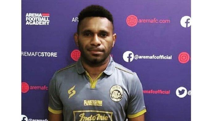 Pemain Arema FC Mariando Djonak Punya Kisah Berliku Sebelum ke Klub Singo Edan