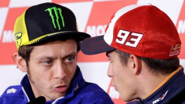 Tak Dapat Maaf dari Valentino Rossi, Begini Respons Marc Marquez