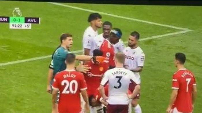 Man United vs Aston Villa, Aksi Provokasi Martinez, Tantang Ronaldo Tendang Penalti; Ayo Kamu Ambil!