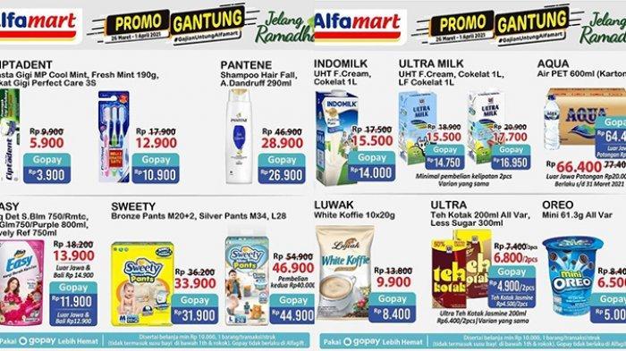 Hari Terakhir Promo Gantung Alfamart 1 April 2021, Promo Susu, Diapers, Sikat Gigi 3 Rp10 Ribuan