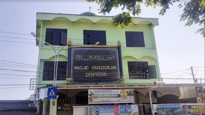 Selama Pandemi, Kegiatan Dakwah di Masjid Darussalam Denpasar Dikurangi, Ibadah Wajib dengan Prokes