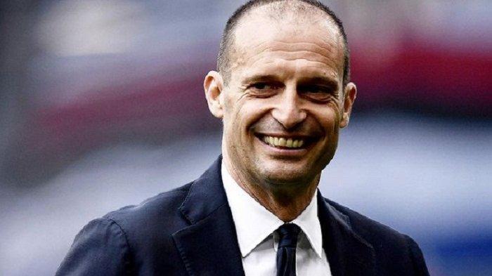 Massimilliano Allegri pelatih Juventus.