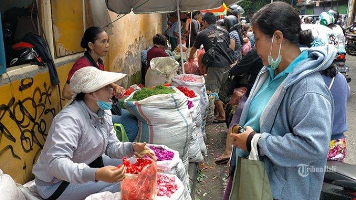Cegah Penyebaran Corona, Pasar di Denpasar Mulai Esok Terapkan Belanja Kebutuhan Pokok Secara Online
