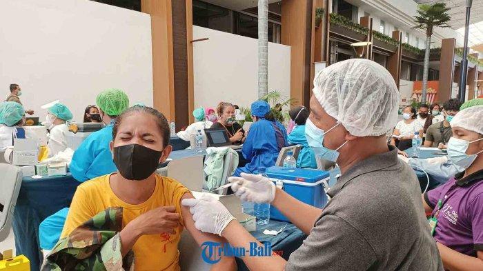 Percepat Vaksinasi Covid-19 di Badung Bali, Discovery Shopping Mall Dijadikan Tempat Vaksin
