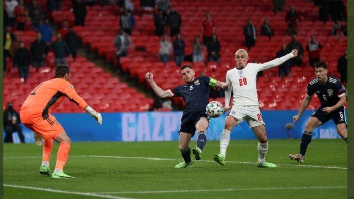 Match day kedua Grup D yang mempertemukan Inggris vs Skotlandia berkesudahan dengan skor imbang 0-0.