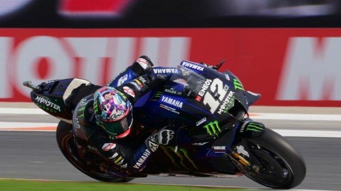 JADWAL MotoGP 2021 Live Trans7, Hasil Tes 4 MotoGP Qatar, Vinales Tercepat, Valentino Rossi Ke-8