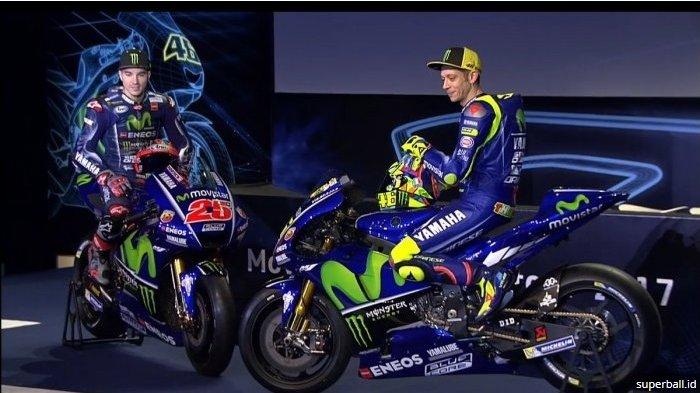 Valentino Rossi Berikan Komentar Terhadap Hengkangnya Vinales dari Yamaha, Singgung Bakat Hebat